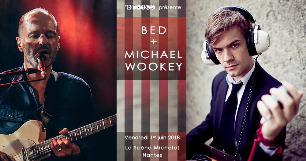 Bed (Benoît Burello) et Michael Wookey à Nantes 01/01/2018