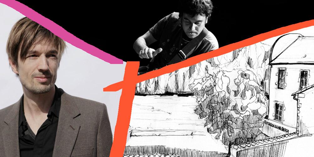 Lecture musicale Gilles Weinzaepflen & David Fenechle 21 juillet - Maison Julien Gracq