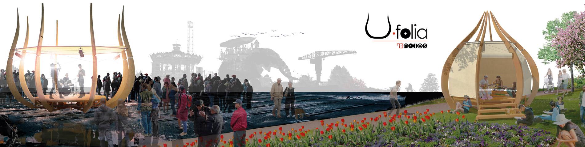 U.folia, la scène mobile dans Nantes et sa région